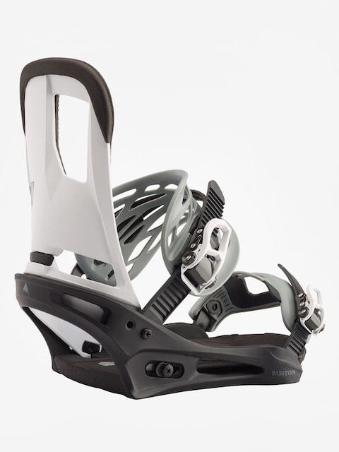 Snowboardové viazanie Burton Cartel (black/white)