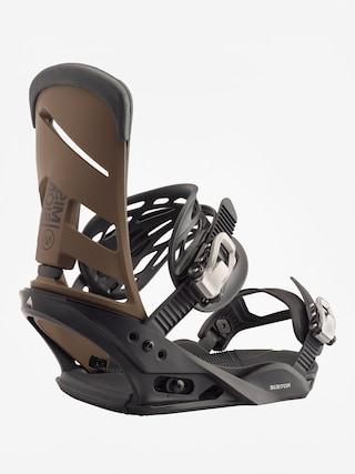 Snowboardovu00e9 viazanie Burton Mission (black/mocha)
