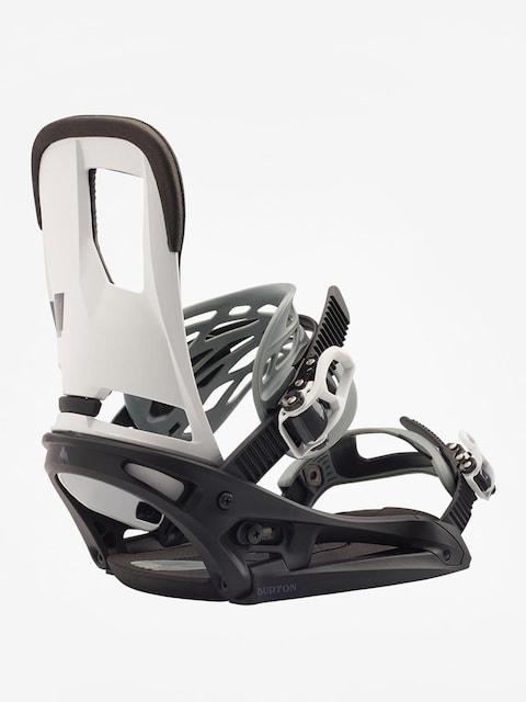 Snowboardové viazanie Burton Cartel Est (black/white)