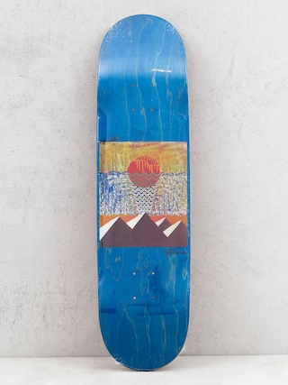 Doska Youth Skateboards Pyramids (blue)