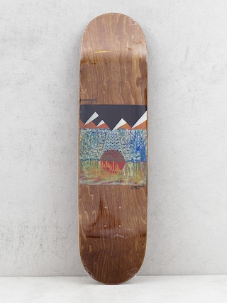 Doska Youth Skateboards Pyramids (brown)