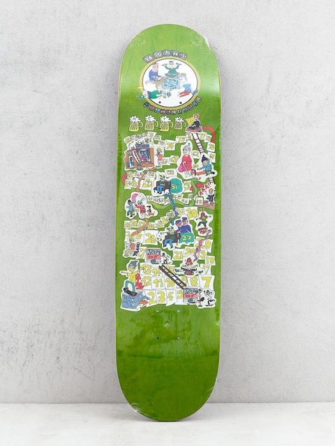 Doska Youth Skateboards The Game (green)