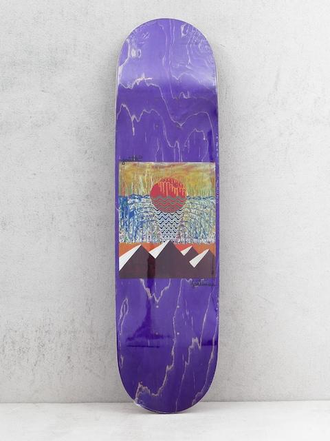 Doska Youth Skateboards Pyramids (purple)