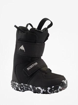 Detsku00e1 snowboardovu00e1 obuv Burton Mini Grom (black)