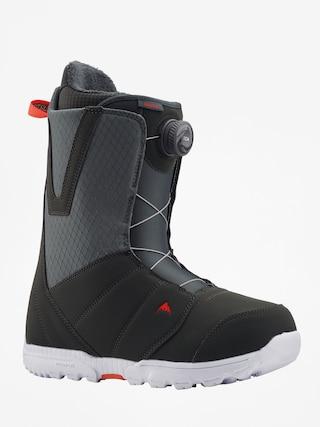 Obuv na snowboard Burton Moto Boa (gray/red)