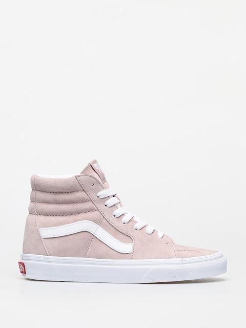 Topánky Vans Sk8 Hi (pig suede/shadow gray/true white)