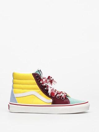Topánky Vans Sk8 Hi (fryd lcs/crmdemnthmshmlw)
