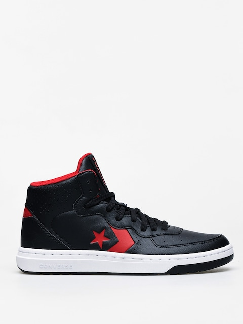 Topánky Converse Rival Mid (black/enamel red)