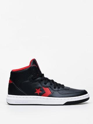 Topu00e1nky Converse Rival Mid (black/enamel red)
