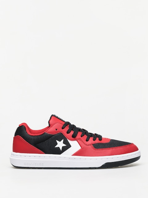 Topánky Converse Rival Ox (black/red/white)