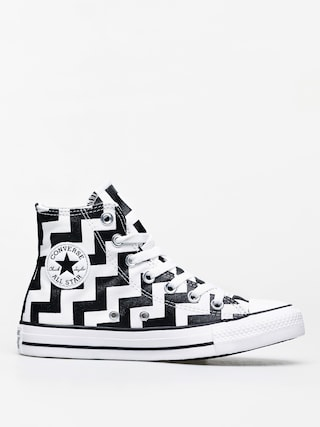 Tenisky Converse Chuck Taylor All Star Hi Wmn (white/black/white)