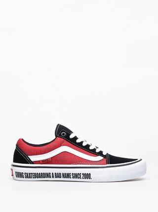 Topu00e1nky Vans X Baker Old Skool Pro (black/white/red)