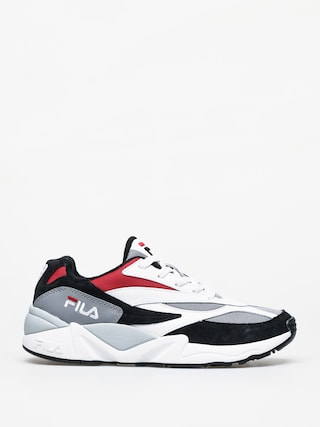 Topu00e1nky Fila V94M Low (black/white/fila red)