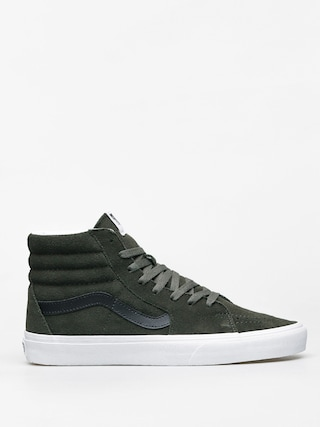 Topu00e1nky Vans Sk8 Hi (forest night/true white)