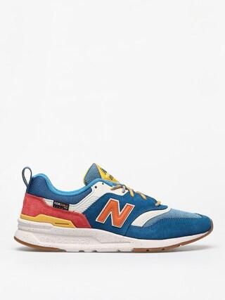 Topu00e1nky New Balance 997 (blue/orange)