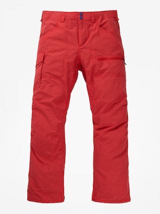 Snowboardové nohavice Burton Covert (flame scarlet rpstp)