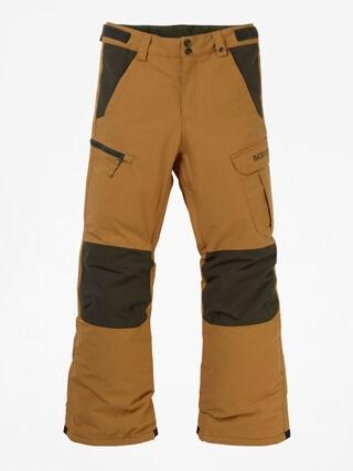 Snowboardovu00e9 nohavice Burton Exile Cargo (wood thrush)