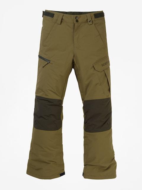 Snowboardové nohavice Burton Exile Cargo (martini olive)