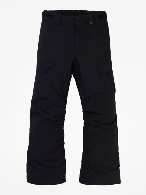 Snowboardové nohavice Burton Exile Cargo (true black)