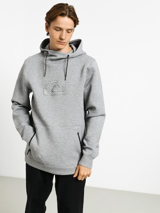 Mikina s kapucňou Quiksilver Freedom HD (light grey heather)