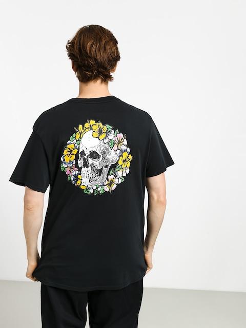 Tričko Quiksilver Og Dead Flowers (black)