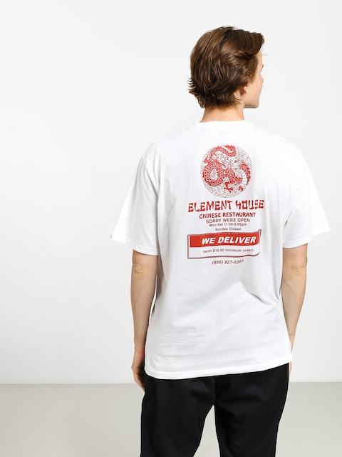 Tričko Element Delivery (optic white)