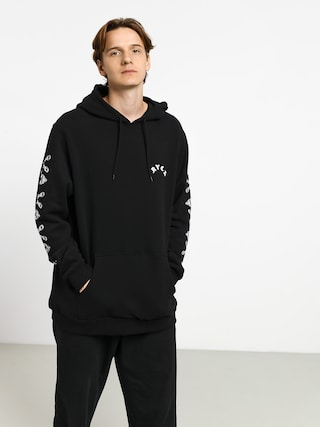 Mikina s kapucu0148ou RVCA Jj Mix HD (black)