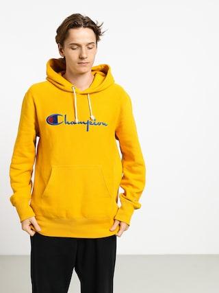 Mikina s kapucu0148ou Champion Premium Reverse Weave Hooded Big Logo HD (old)