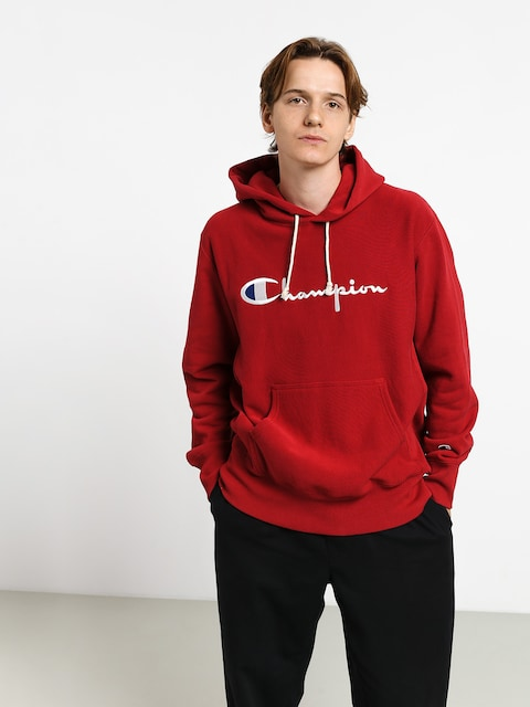 Mikina s kapucňou Champion Premium Reverse Weave Hooded Big Logo HD