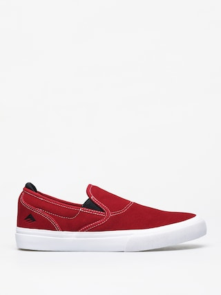 Topu00e1nky Emerica Wino G6 Slip On (red/white/black)