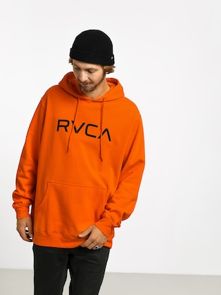 Mikina s kapucu0148ou RVCA Big Rvca Rcy HD (orange crush)