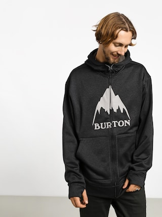 Mikina s kapucu0148ou Burton Oak ZHD (mtn true blk htr)
