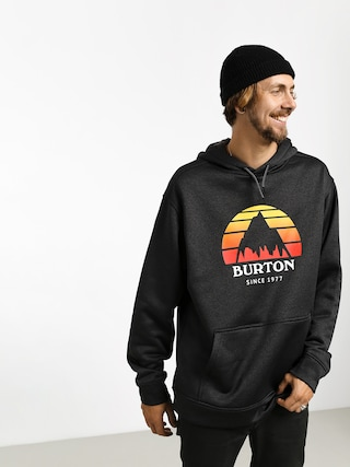 Mikina s kapucu0148ou Burton Oak HD (sunset true blk htr)