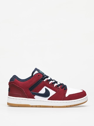 Topu00e1nky Nike SB Air Force II Low (team red/obsidian white summit white)