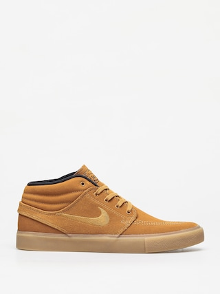 Topu00e1nky Nike SB Zoom Janoski Mid Rm (wheat/wheat black gum light brown)