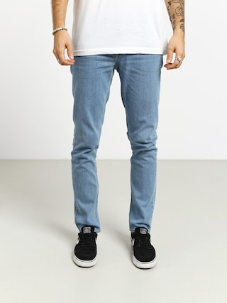 Nohavice Volcom Vorta Denim (thrifter blue light)