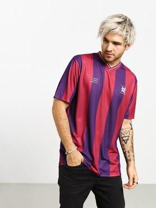 Tričko Volcom A.P.#2 Soccer (ruby red)