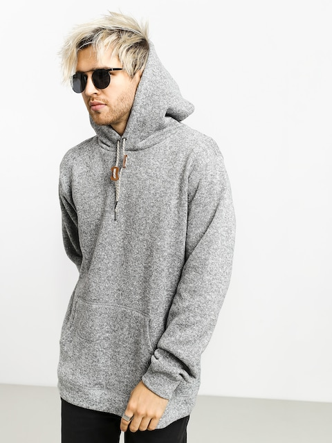 Mikina s kapucňou Quiksilver Keller HD (medium grey heather)