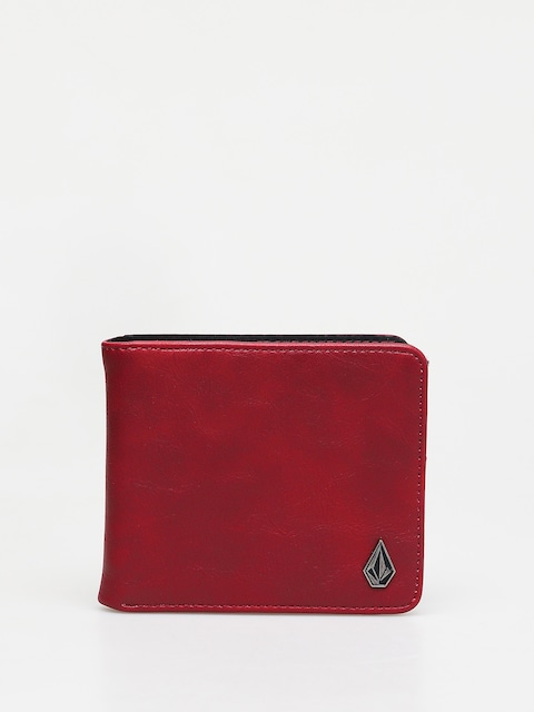 Peňaženka Volcom Slim Stone Pu L (cabernet)
