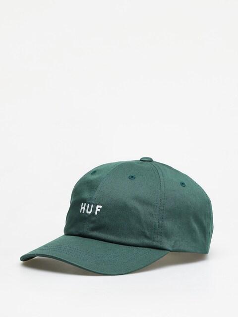 Šiltovka HUF Essentials Og Logo ZD (botanical green)