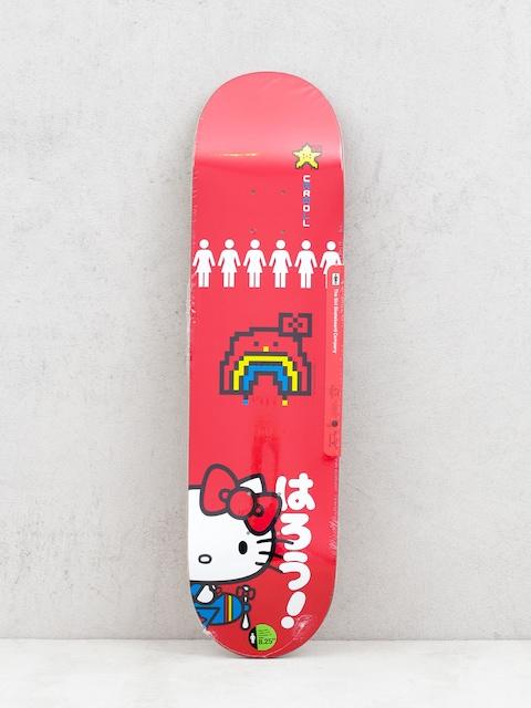 Doska Girl Skateboard Carroll Hello Kitty