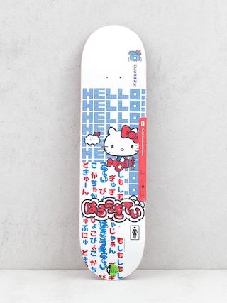 Doska Girl Skateboard Mccrank Hello Kitty (white)