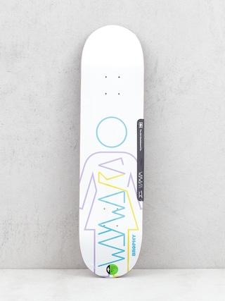 Doska Girl Skateboard Brophy Wayward (white)