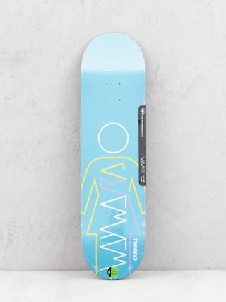 Doska Girl Skateboard Carroll Wayward (blue)