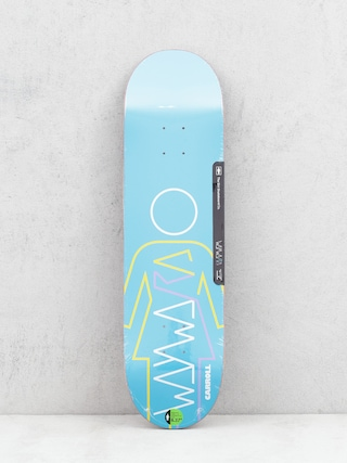 Doska Girl Skateboard Carroll Wayward (blue)