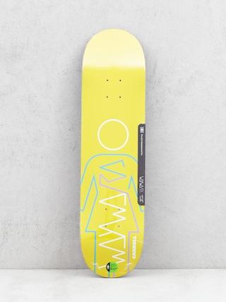 Doska Girl Skateboard Carroll Wayward (yellow)