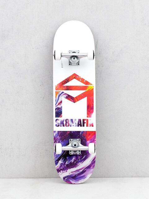 Skateboard Sk8Mafia House Logo (oil low)