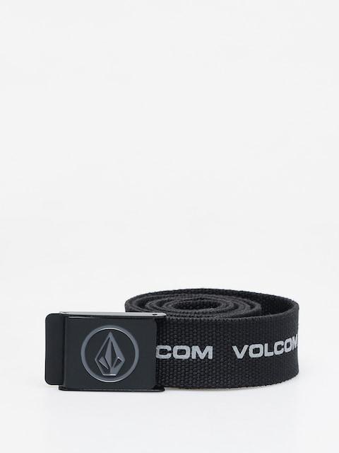 Opasok Volcom Circle Web (black print)