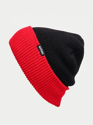 u010ciapka Etnies Warehouse Block Beanie (black/red)