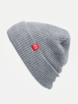 u010ciapka Es Block Beanie (grey/heather)